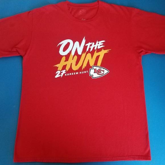 b81c31cb NFL Pro line KC Chiefs Kareem Hunt T-shirt